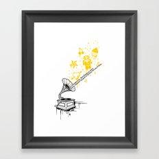 Music Maker Framed Art Print