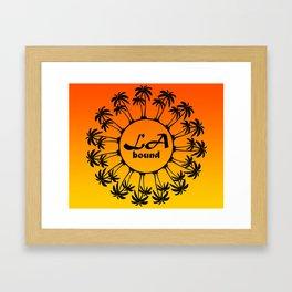 LA Bound Framed Art Print