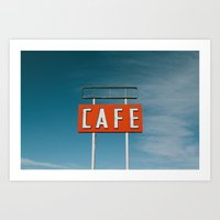 Midpoint Cafe Art Print