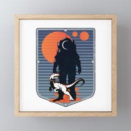 The Astronaut's Pet Framed Mini Art Print