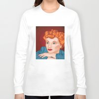 lucy Long Sleeve T-shirts featuring Lucy by Maxfield and Madison