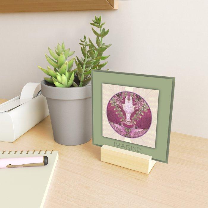 Imagine Manifestation Mandala No. 3 Mini Art Print