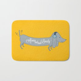 Alone but not Lonely Bath Mat