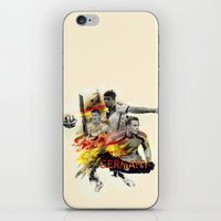 germany iPhone & iPod Skins featuring Germany by Rose's Creation