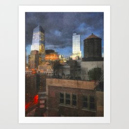 Hudson Yards Art Print