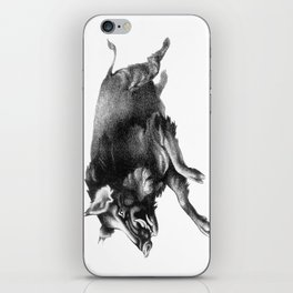 Running Boar iPhone Skin