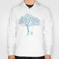 artists Hoodies featuring The Start of Something by David Fleck