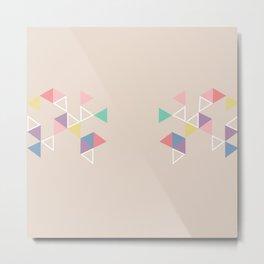 Geometric Tri Metal Print