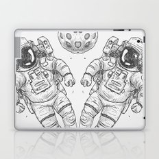 astro Traveller Retro Laptop & iPad Skin