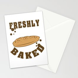 Fan of bread? Want to wear them even if you can't eat them? Grab this mouth watering tee design now! Stationery Cards