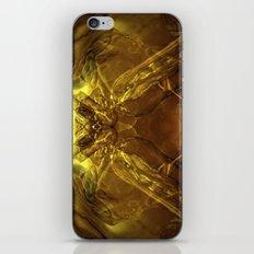 Cobra de cristal iPhone & iPod Skin