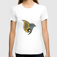 persian T-shirts featuring Persian Bird by Katayoon Photography & Design