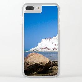 Scala dei Turchi Clear iPhone Case