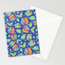 Foliage at twilight Stationery Cards