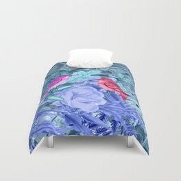 blue&birds Duvet Cover