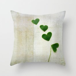Love and Luck Throw Pillow