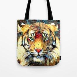 Fantazi (Tiger is Not Amused II) Tote Bag