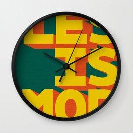 LES IS MOR Wall Clock