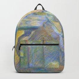"""Henri de Toulouse-Lautrec """"Vincent van Gogh"""" Backpack"""
