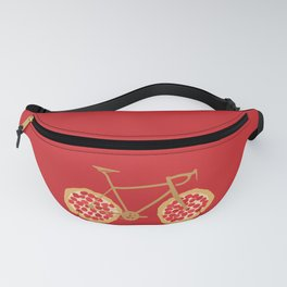 Bicycle Pizza Wheels Fanny Pack