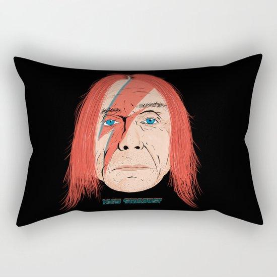 Iggy Stardust Rectangular Pillow