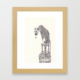 The last guardian Framed Art Print