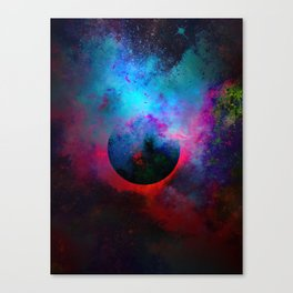 α Dark Aurigae Canvas Print
