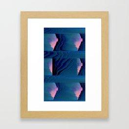 Sectors Framed Art Print