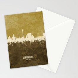 Düsseldorf Germany Skyline Stationery Cards