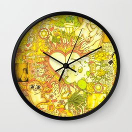 """""""The core of unequivocal, eternal & undying love"""" Wall Clock"""