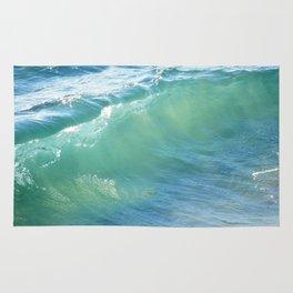 Teal Surf Rug