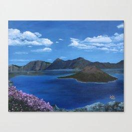 Spring at Crater Lake Canvas Print