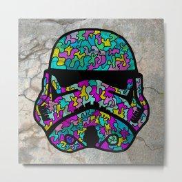 Colourful Strom Trooper Metal Print