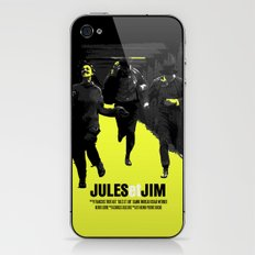 Jules Et Jim iPhone & iPod Skin