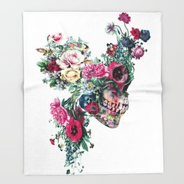 SKULL VII Throw Blanket
