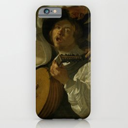 "Dirck van Baburen ""A duet"" iPhone Case"