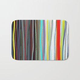Shower Curtain Hippie Curtains,Boho curtain,Gypsy,Striped CURTAIN Rustic,Fabric,Ribbon Rainbow,Tee Bath Mat