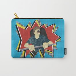 White knuckle roller coaster ride Carry-All Pouch
