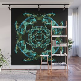 Silk pattern, Copper Wall Mural