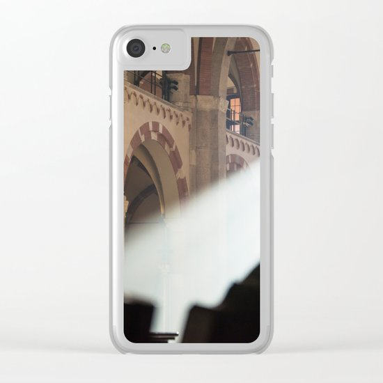 Basilique Saint Ambroise Milan Clear iPhone Case