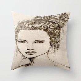 Seductress Throw Pillow