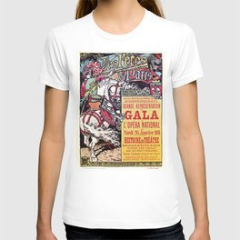 Medieval Gala Opera Paris 1886 T-shirt