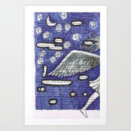 Two. Art Print