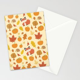 Autumn Fall Delights Stationery Cards