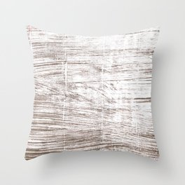 Cinereous abstract watercolor Throw Pillow