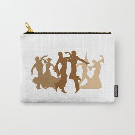 Flamenco Dancers Illustration  Carry-All Pouch
