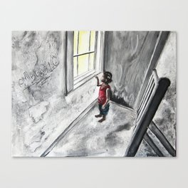 Transpire Canvas Print