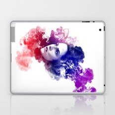 Kristen Stewart Watercolor Portrait Laptop & iPad Skin