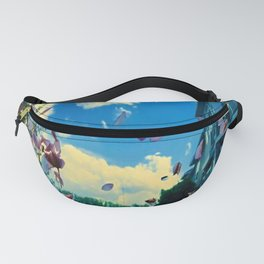 Caught in a Wind Tunnel Fanny Pack
