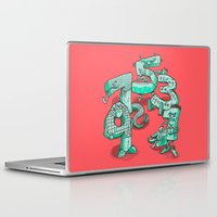 numbers Laptop & iPad Skins featuring Odd Numbers by Nick Volkert